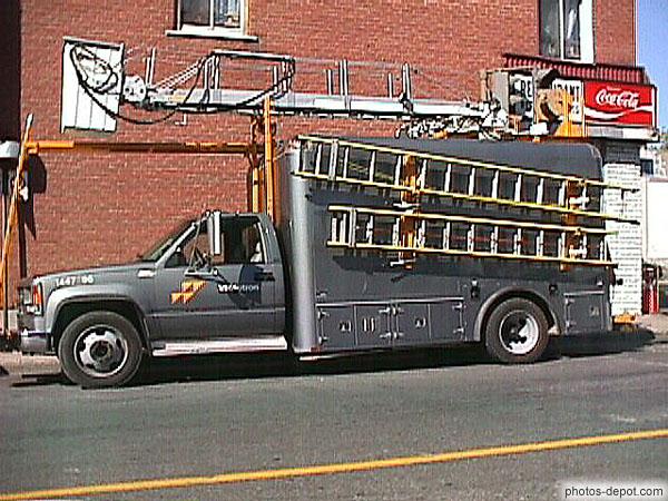 Photo de camion videotron