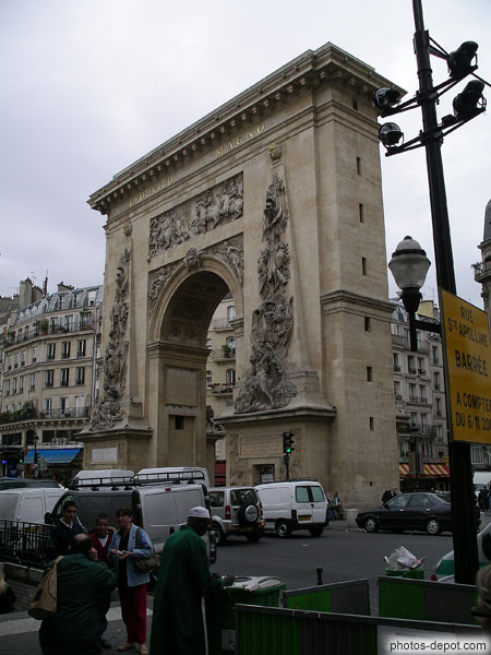 photo de Porte St Denis