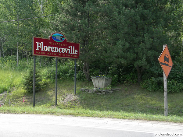 photo de Village of Florenceville, french fry capital of the world